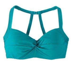 Title nine  Pele Bikini Top turquoise teal